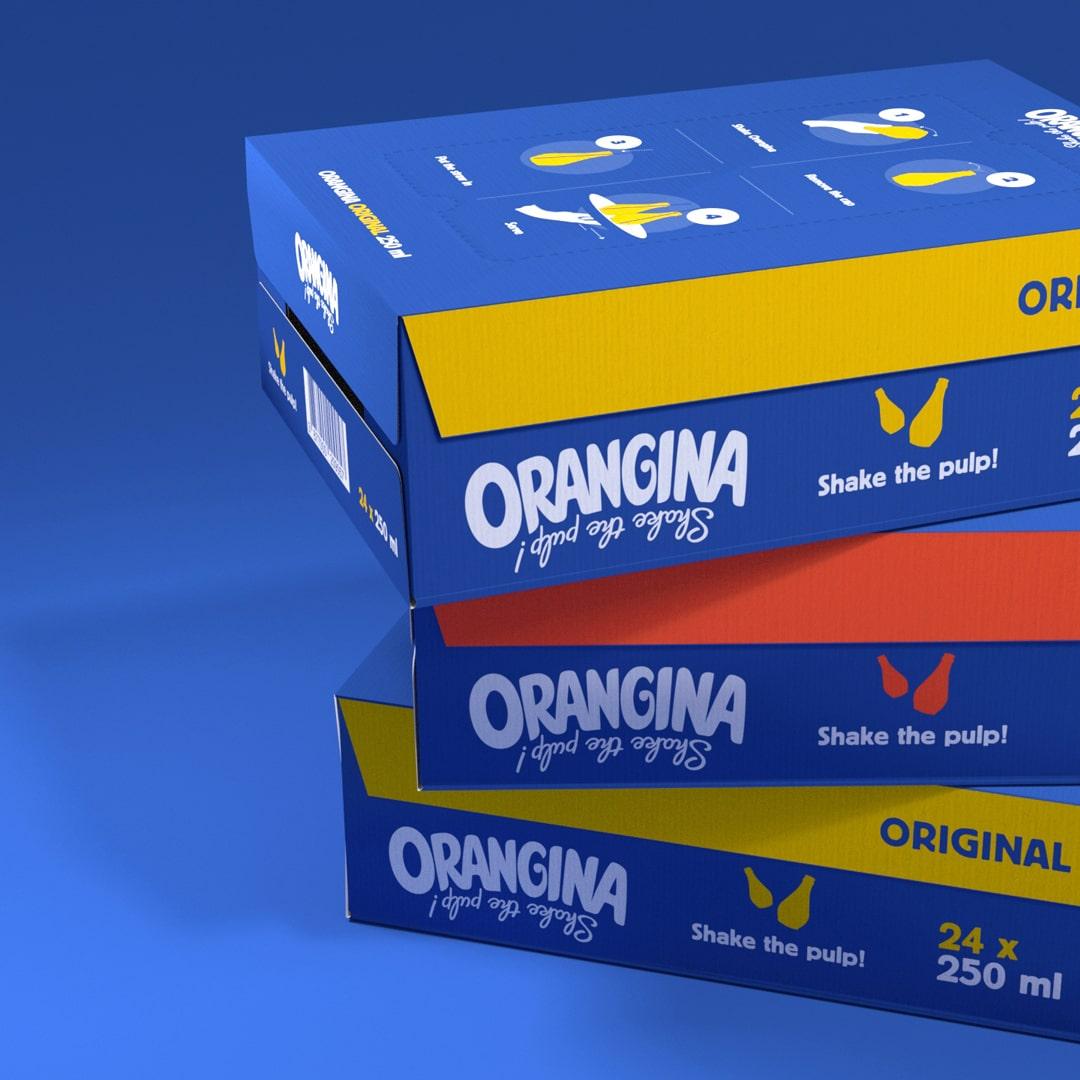 Orangina Transport Packaging